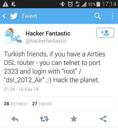 Airties Backdoor