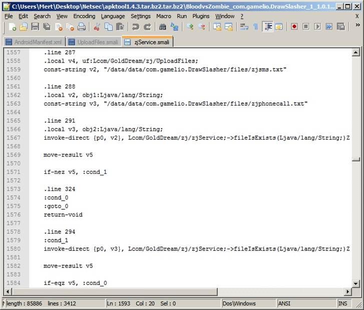 Android Zararlı Yazılım Analizi