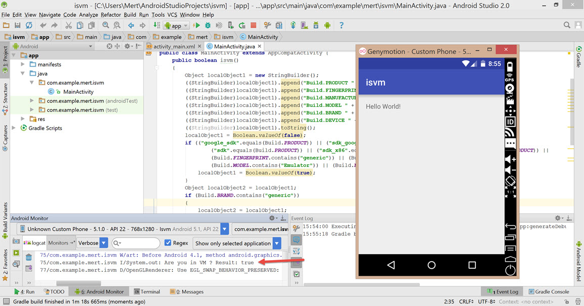 Android Anti Anti-Emulator