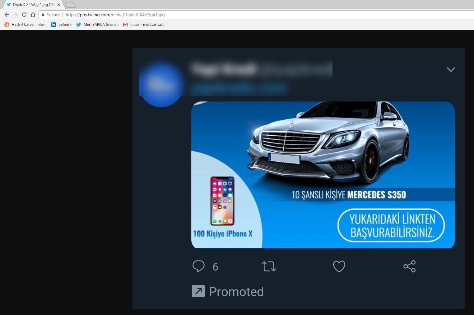 Malicious Advertisement