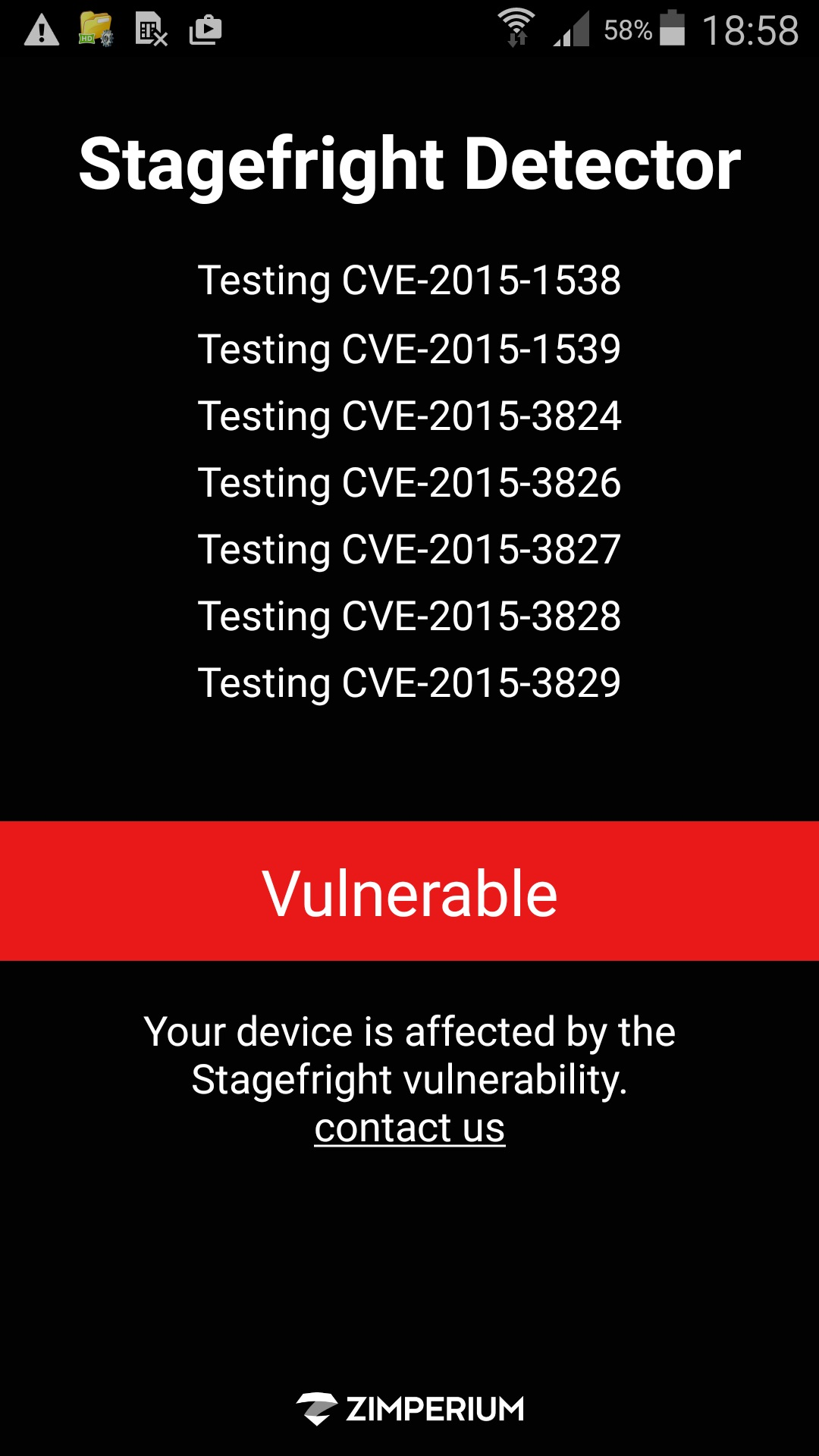 Android Stagefright Vulnerability