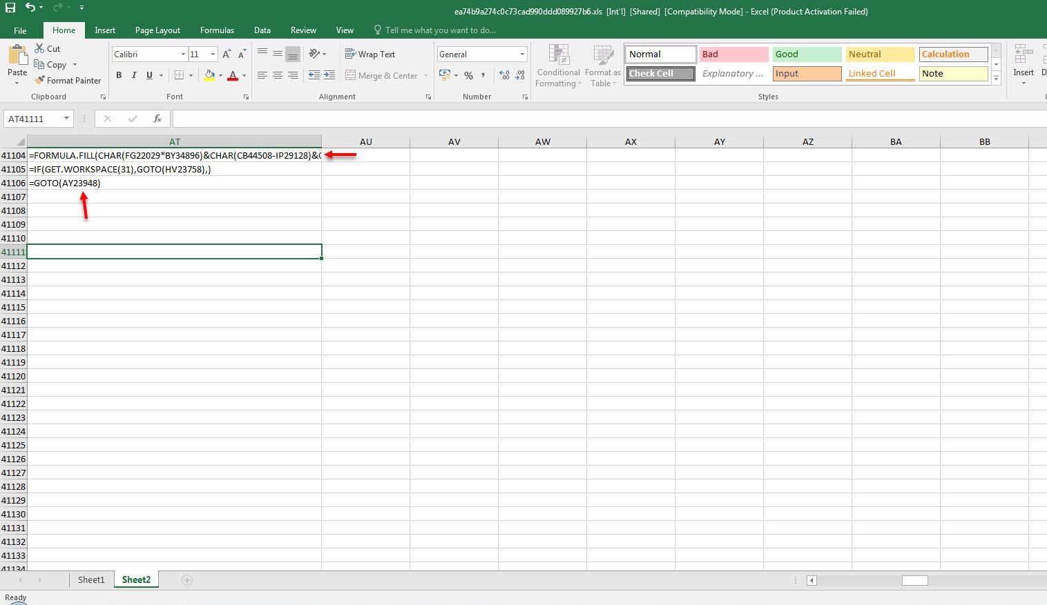 XLM Macro Analysis