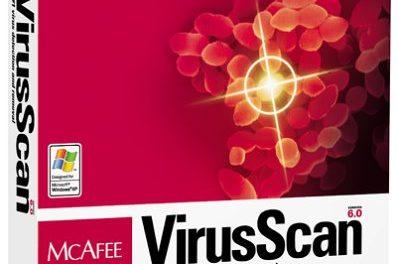 Virusscan BUP Restore Utility